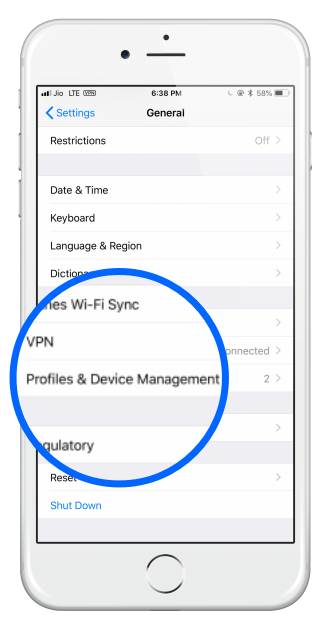 ios_profile and device management